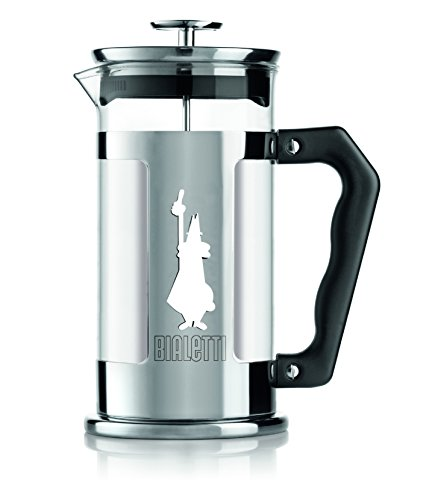 Bialetti-6860-Preziosa-Stainless-Steel-3-Cup-French-Press-Coffee-Maker