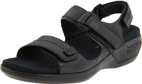 Black Aravon Womens Aravon Womens Katy Leather Z86wIq6W