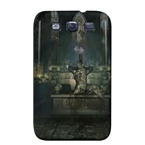 Abstract Wallpapers Amnesia Sacrefising The Pig Black TPU For Sumsang Galaxy S3 Amnesia Sacrefising The Pig Case Cover