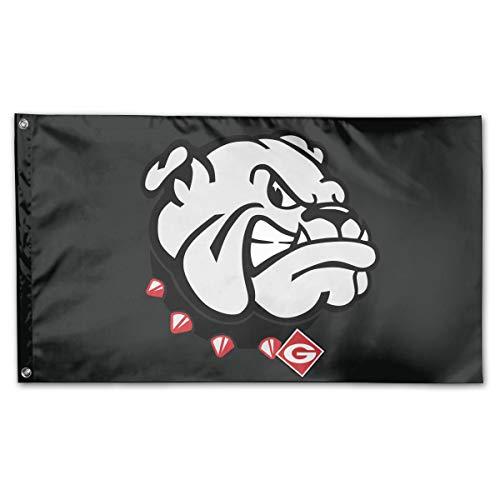 Riyuekong 3X5 Foot Bulldogs Flag - 100% Single