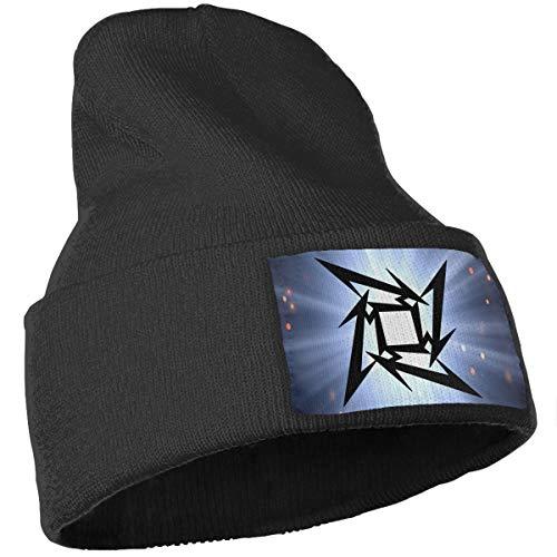 adaa7e48433 Amazon.com  LixuA Logo Metallica Music Unisex Warm Winter Hat Knit Beanie  Skull Cap Cuff Beanie Hat Winter Hats  Sports   Outdoors