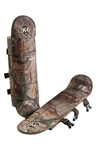 Snake Proof Gaiters (Knight & Hale Snake Gaiters in Realtree Xtra ft. Polycarbonate Sides and Ballistic Nylon Covering)