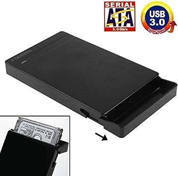 多機能はさまざまなニーズを満たします。 2.5インチSATA HDD/SSD外付けエンクロージャ、ツールフリー、USB 3.0インタフェース(ブラック)、スタイリッシュでコンパクト、持ち運びが簡単。