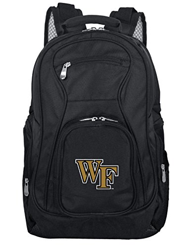 NCAA Wake Forest Demon Deacons Voyager Laptop Backpack, 19-inches