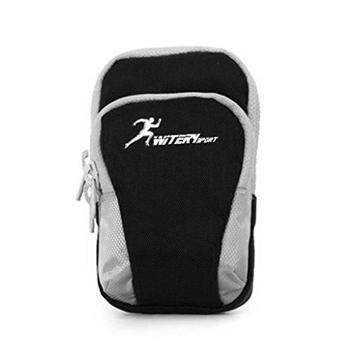 Witery Outdoor Sporting Cellphone Mobile Phone iPod MP3 MP4 Camera Arm Band Bag Pouch Case Holder for iPhone 6 / 6 Plus / 5 / 5ekking Hiking Cycling Mounting Strolling ()