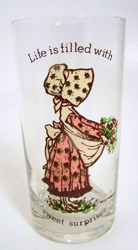 Holly Hobbie Sweet - Holly Hobbie, Life Is Filled with Sweet Surprises, Glass