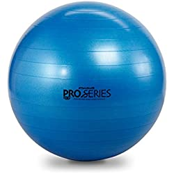 TheraBand Exercise and Stability Ball – Pro Series Blue, 75 cm