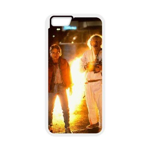 Back To The Future coque iPhone 6 4.7 Inch Housse Blanc téléphone portable couverture de cas coque EBDOBCKCO11097
