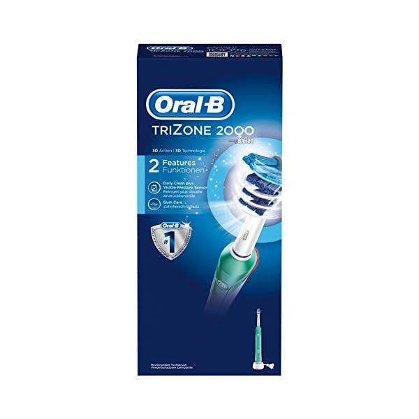 Oral-B TriZone 2000 - Cepillo de Dientes Eléctrico Recargable 12