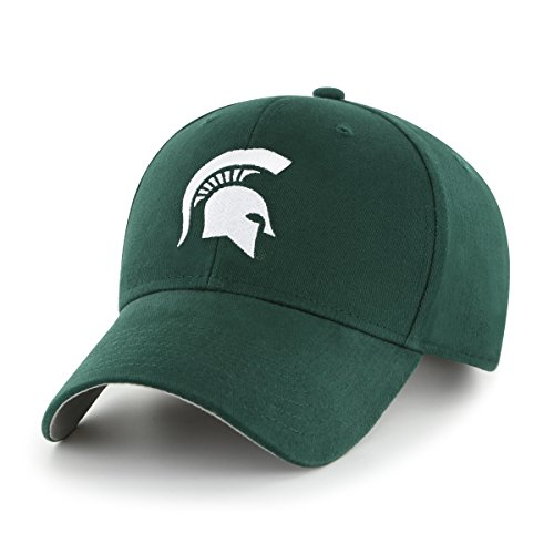 OTS NCAA Michigan State Spartans Kid's Cinch All-Star Adjustable Hat, Dark Green, Kid's - Michigan State Spartans Apparel