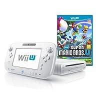 Wii U 8GB Basic Set Console + New Super Mario Bros. U - White (Nintendo Wii U)