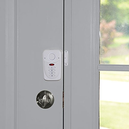 SABRE Wireless Elite Home and Commercial Door Security Alarm with LOUD 120 dB Siren and Exit Entry Delays - DIY EASY to Install by Sabre (Image #2)