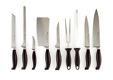 Compra FranquiHOgar Juego de 9 Cuchillos Profesionales ...