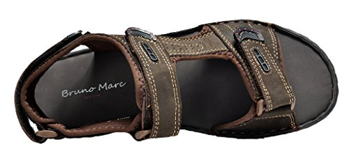 Bruno Marc Mens Maui Outdoor Sandali Pescatore Marrone Nabuk