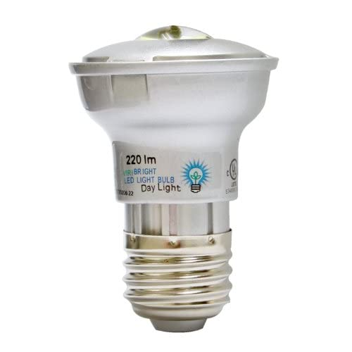 Benchmark by Viribright 4.5W MR Medium Flood 80-Degree, Medium Screw Base, 110-120VAC Dimmable LED Light Bulb, Daylight 6000K...