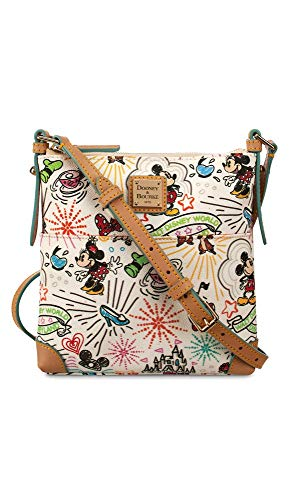 amp; Sketch Carrier Letter Dooney Bourke Purse Crossbody White gdzxzqwRH