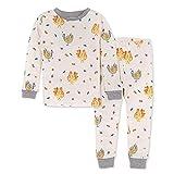 Burt's Bees Baby Baby Girls' Pajamas, Tee and Pant 2-Piece Pj Set, 100% Organic Cotton, Turkey Trot, 24 Months