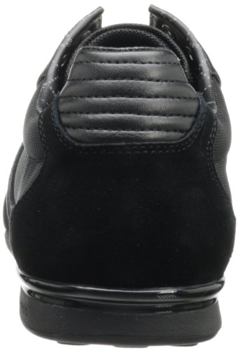 Akeen Black Green Men's Suede by Hugo BOSS Boss Sneaker XSZwx4g