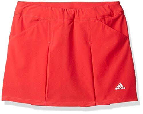 adidas Golf Girls Fashion Pleat Skort, Core Pink, Medium