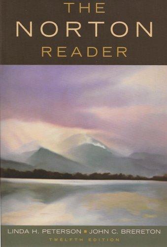 The Norton Reader, Twelfth Edition (Western Carolina) ebook
