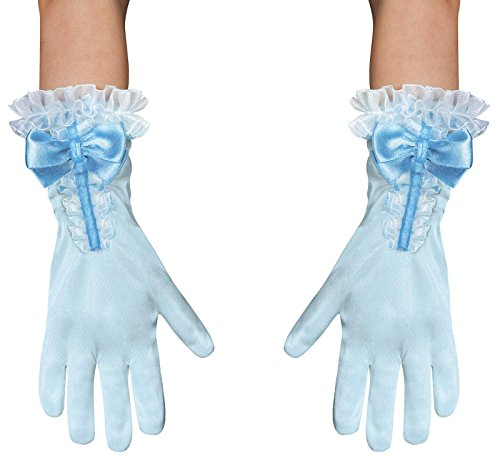 Disguise Costumes Cinderella Gloves, Toddler, Size 6 ()
