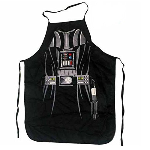 Star Wars Darth Vader Sith (Kids/Young Adult Petite) Superhero Character Kitchen BBQ Apron with Gift Box (Size: 22