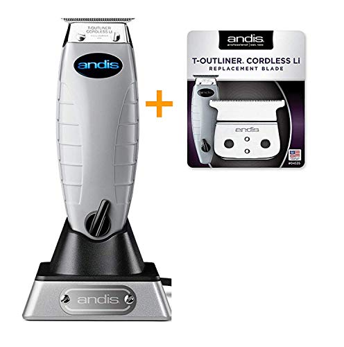 Andis Bundle Cordless T-Outliner Trimmer 74000 Plus for sale  Delivered anywhere in USA