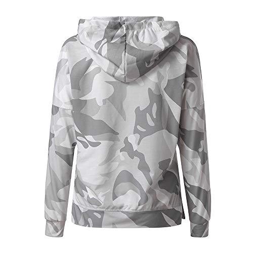 invierno Top Green Blusa Mantener Ropa Para Mujer Larga Suéter De Navidad Needra Confort Otoño Chándales Camisas Ocio Sudadera Caliente Camisa Manga xREUOwpn