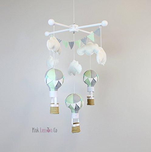 hot air balloon mobile - 4