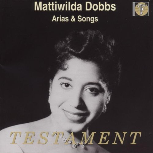 Mattiwilda Dobbs: Arias & Songs by Harmonia (Generic)