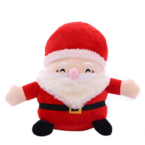Christmas Santa Clause Plush Stuffed Toy 9.8 Inches]()