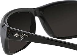 Maui Jim Sunglasses | Men's | Spartan Reef HT278 | Wrap Frame, Polarized Lenses, with Patented PolarizedPlus2 Lens Technology