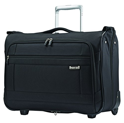 Delsey Lightweight Duffel (Samsonite Solyte Softside Carry-on Wheeled Garment Bag, Black)