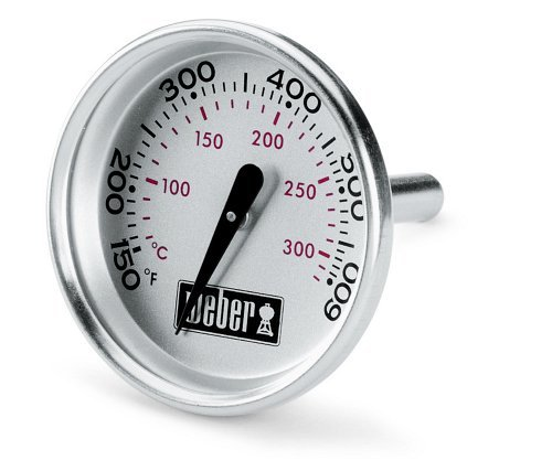 Weber 60540 Charcoal, Spirit, Q Grill Replacement Thermometer, 1-13/16