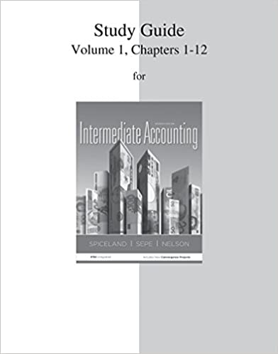 Amazon study guide volume 1 for intermediate accounting study guide volume 1 for intermediate accounting 7th edition fandeluxe Gallery