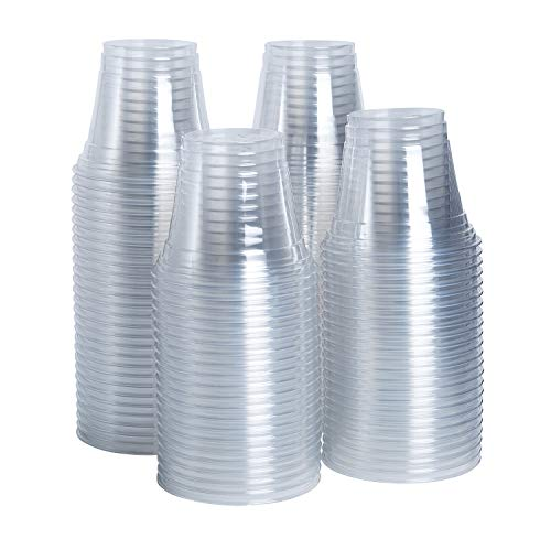[100 Count] 9 oz. Plastic Party Cups - Plastic Tumblers