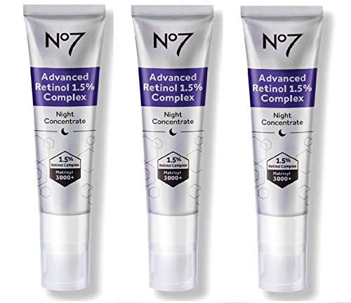 No7 Advanced Retinol 1.5% Complex Night Concentrate (3 pack)