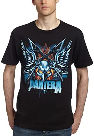 Amazon Com Bravado Men S Pantera Wings T Shirt Clothing