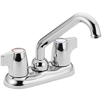 laundry tub faucet installation chateau two handle low arc sink chrome replacement repair leaky