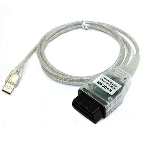 JahyShow for BMW INPA/Ediabas K+DCAN USB Interface TO OBD OBDII OBD2 Car Diagnostic Scanner Tool Cable