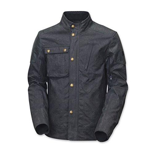 Waxed Cotton Motorcycle Jacket - 4