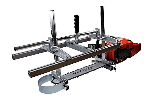 "Zchoutrade Portable Chainsaw Mill 14-36 Inch Portable Aluminum Steel Mig Welding Saw Mill 36"" Planking Lumber Cutting Bar"