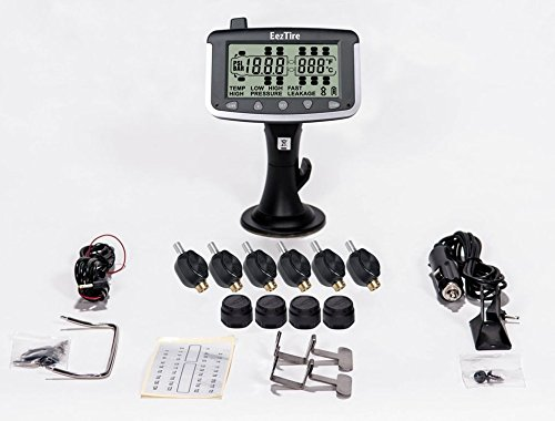 EEZTire Tire Pressure Monitoring System - 10 Mixed Sensor (TPMS) - FREE U.S. SHIPPING AT CHECK OUT