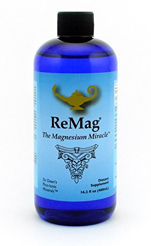 ReMag Pico-Ionic Liquid Magnesium by RnA ReSet. Formulated by Dr. Carolyn Dean for Complete Absorption. Experience The Magnesium Miracle. 16.2 fl oz