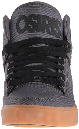 Osiris NYC 83Vulc Josh Grant zapatos Dark Grey/gum
