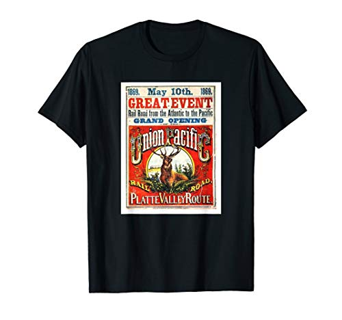 Transcontinental Railroad Grand Opening T-Shirt