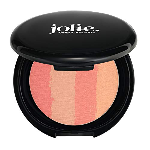 Jolie Color Lines Pressed Bronzing Powder 14g (Peach -