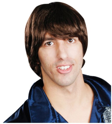 Enigma Wigs Men's Beatles P, Brown, One Size -