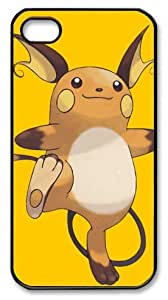 icasepersonalized Personalized Protective Case for iphone 4/4s - Pokemon Raichu