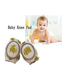 Baby Crawling Knee Pads, Unisex Breathable Crawling Protector Elbow Pads (2 PCS)